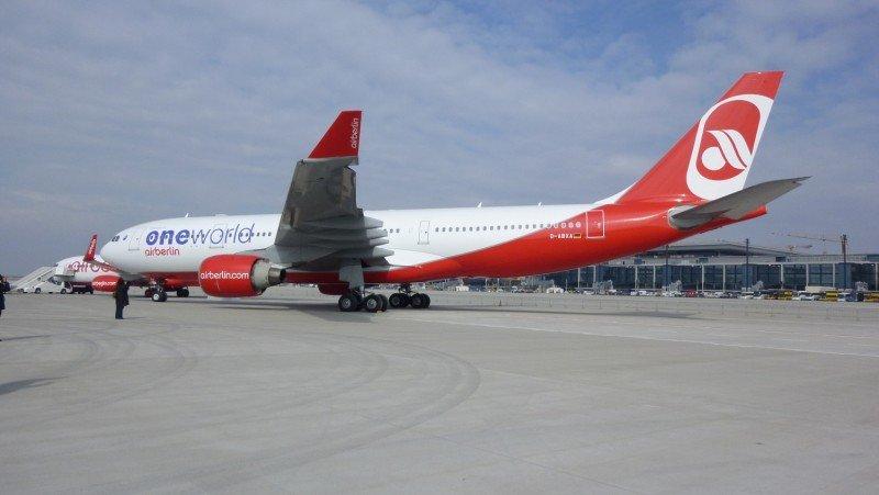 Airberlin demanda por 48 M € al Aeropuerto de Berlín Brandeburg