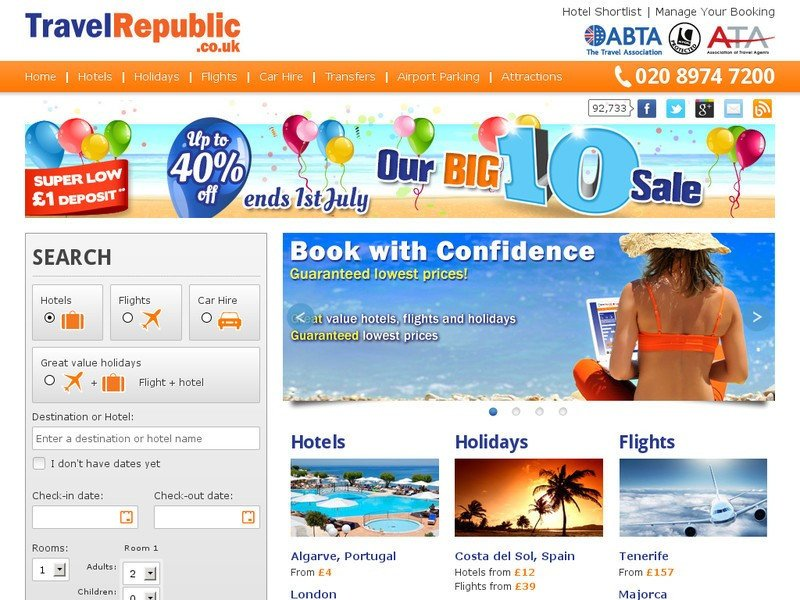 Travel Republic apuesta por la expansión internacional