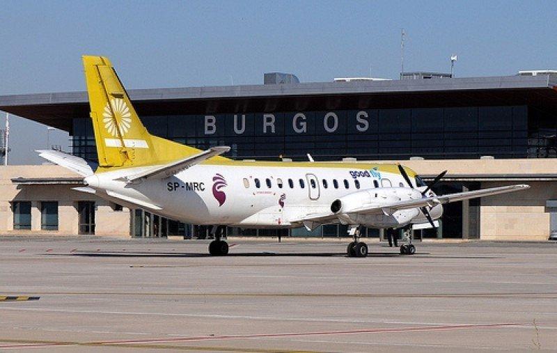 Aeropuerto de Burgos.