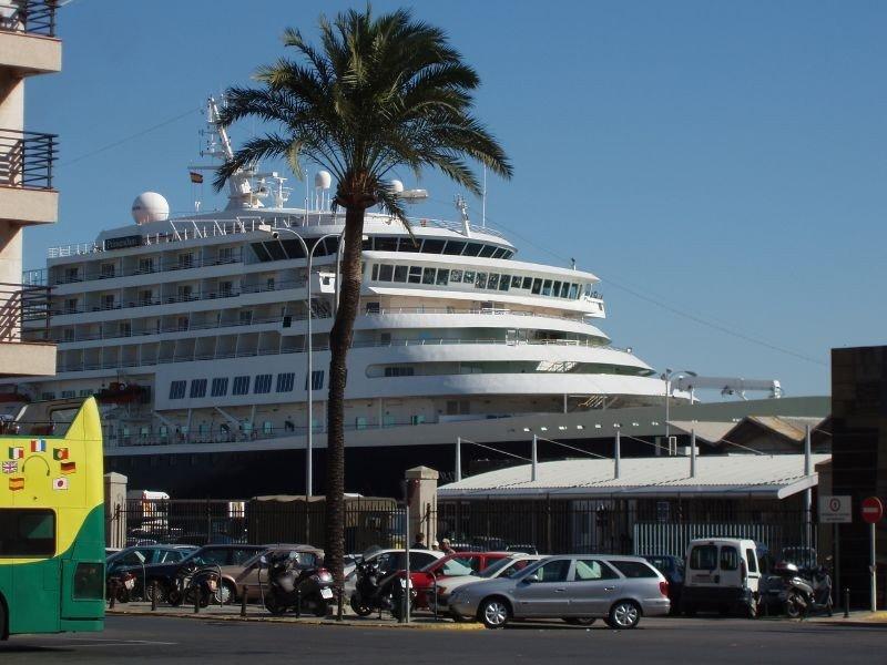 Cádiz, segundo puerto peninsular en escalas de cruceros