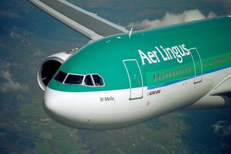 El Airbus A330 de Aer Lingus (imagen digital).