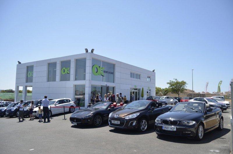 OK Rent a car factura un 30% más en 2013 y se consolida en Baleares