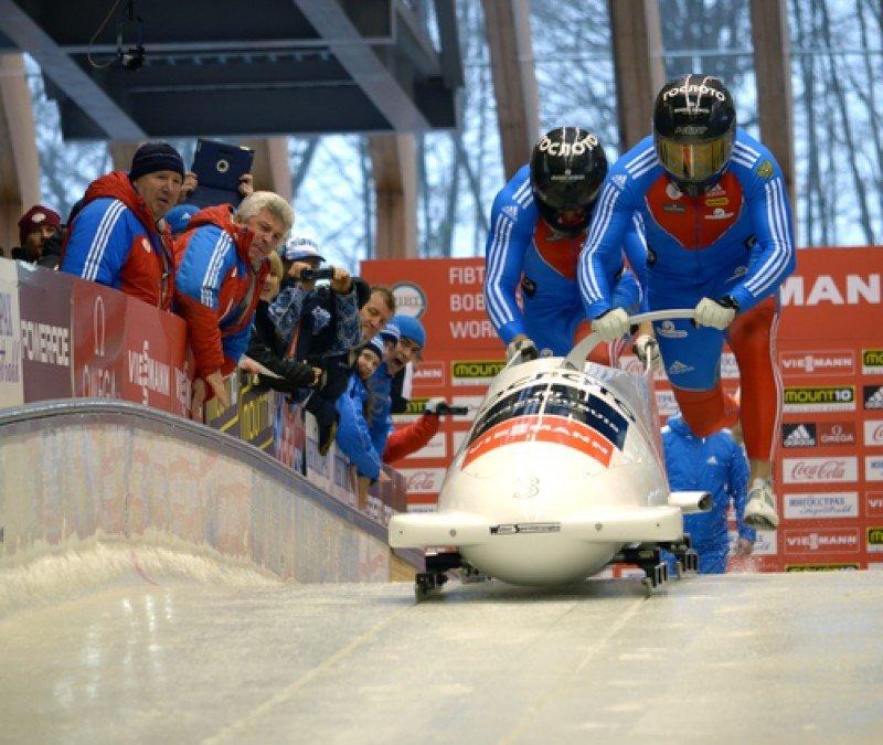 Para los Juegos Olímpicos de Invierno de Sochi se registran alzas de precios esporádicas en las fechas intermedias. En la imagen, pruebas deportivas en sus instalaciones. #shu#