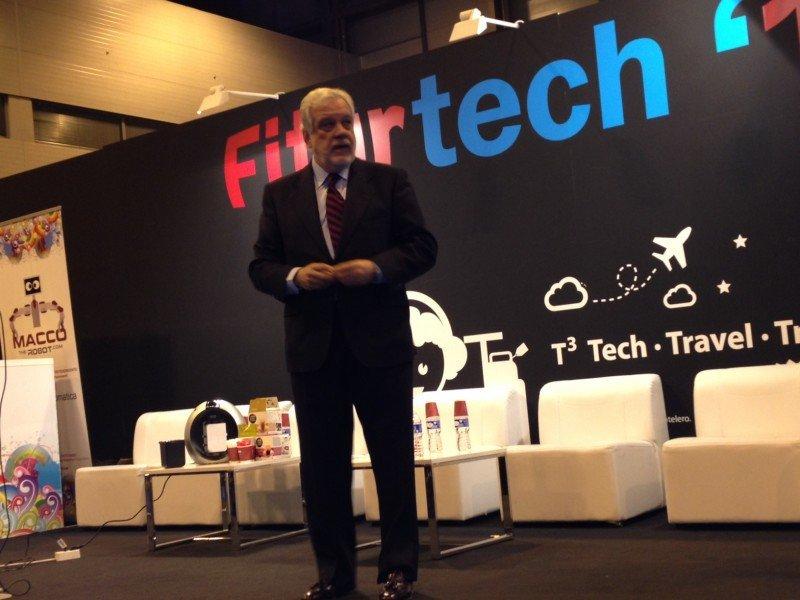 Félix Cuesta, en Fiturtech.