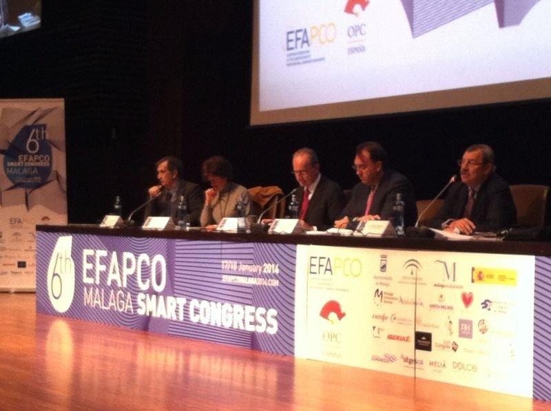 Congreso 2014 de la Federación Europea de Asociaciones de Organizadores Profesionales de Congresos, que se celebró en Málaga.