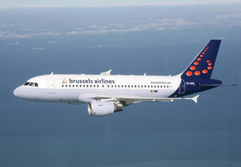 Brussels Airlines incorporará en los próximos meses dos nuevos aviones modelo Airbus A319 (en la foto).
