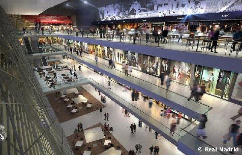 Las nuevas instalaciones de Bernabéu contarán con zonas comerciales y un hotel de lujo.