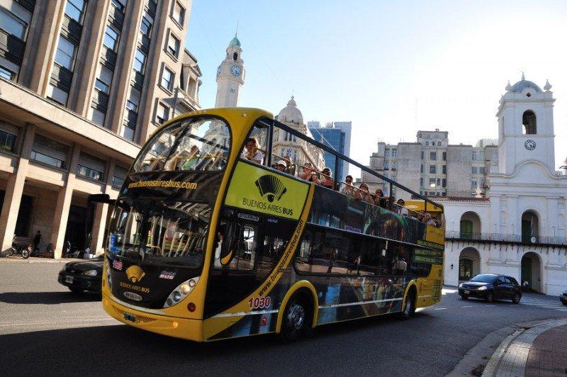 Fueron más de 50.000 los turistas que eligieron Buenos Aires para empezar el año.