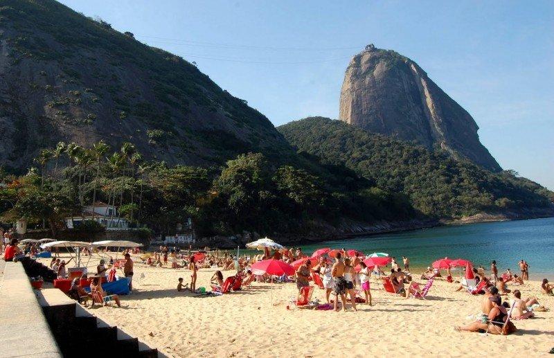 Playa Vermelha, Río de Janeiro.