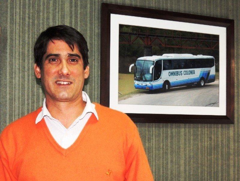 Alejandro Velluti, nuevo presidente de la Asociación Turística de Colonia. Foto: Prensa Rosarina