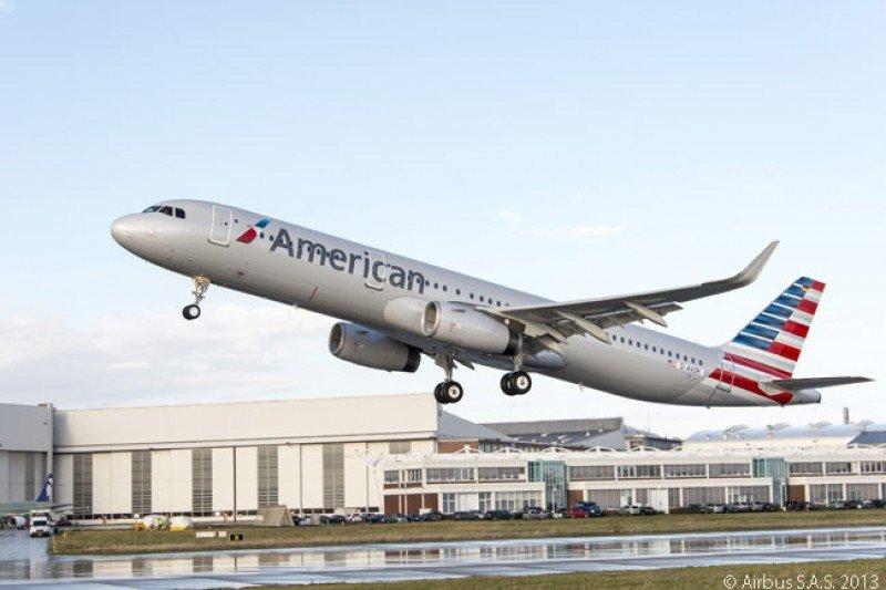 Nuevo A321s de American. Foto: Airbus.