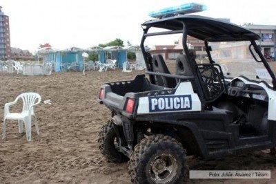 Tres muertos por la caída de un rayo en Villa Gesell. (Foto: Telam).