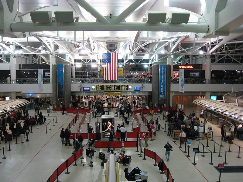 Aeropuerto Internacional John F. Kennedy.