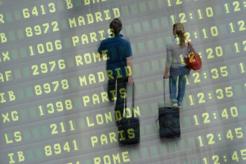 En noviembre la cifra fue de 13,8 millones de pasajeros.
