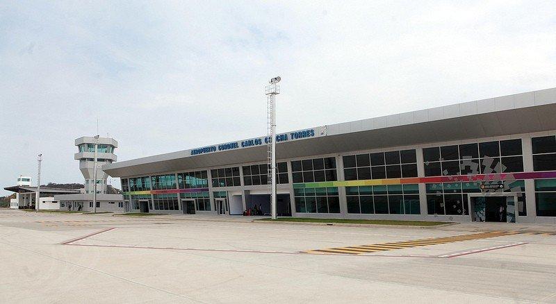 Nuevo aeropuerto de la ciudad de Esmeraldas