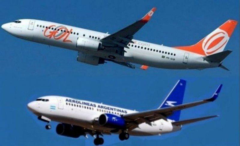 Aprueban acuerdo de Gol y Aerolíneas Argentinas de compartir vuelos