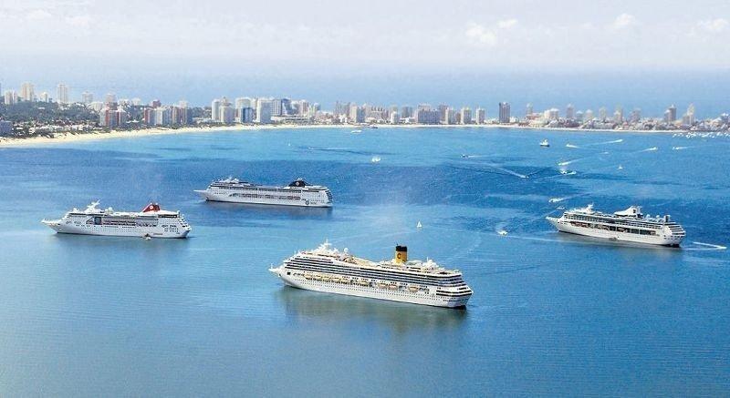 Más de 100 mil cruceristas arribaron a Punta del Este