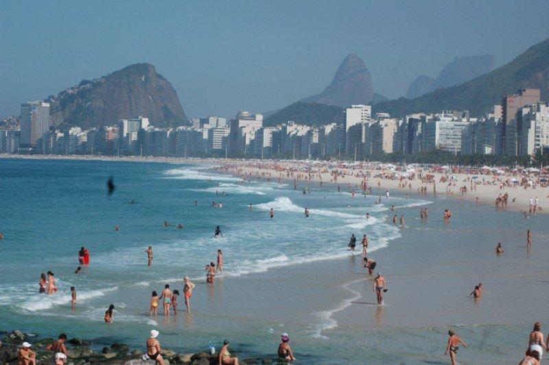Copacabana, Río de Janeiro.