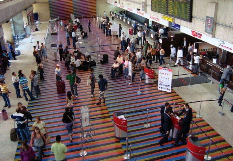 Aeropuerto Internacional de Maiquetía 'Simón Bolívar'.