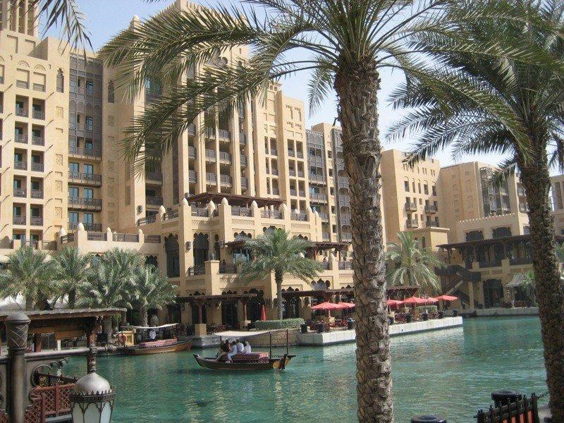 Un hotel de Dubai.