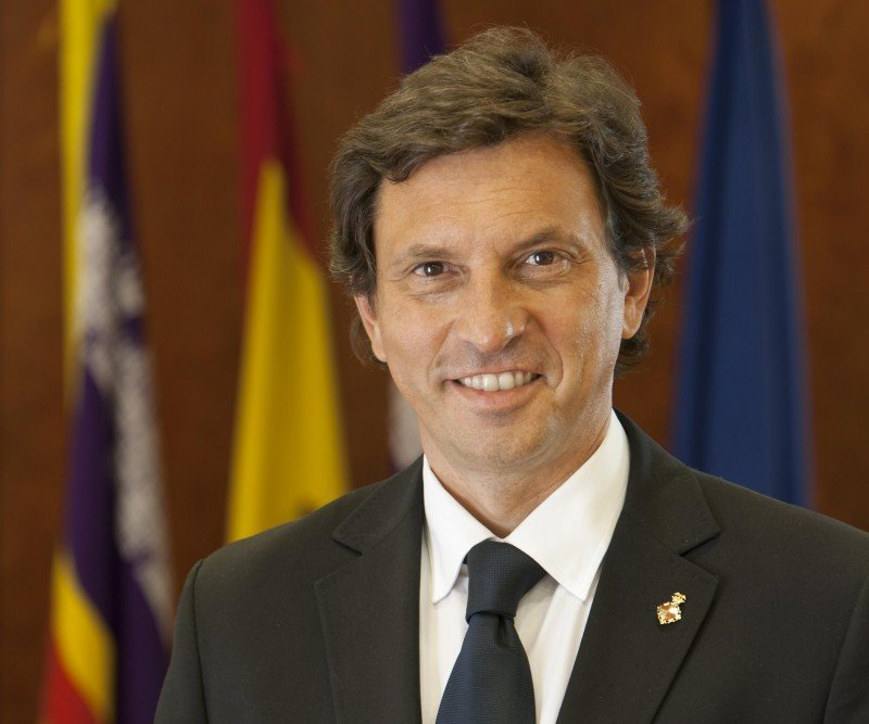 Mateo Isern, alcalde de Palma.