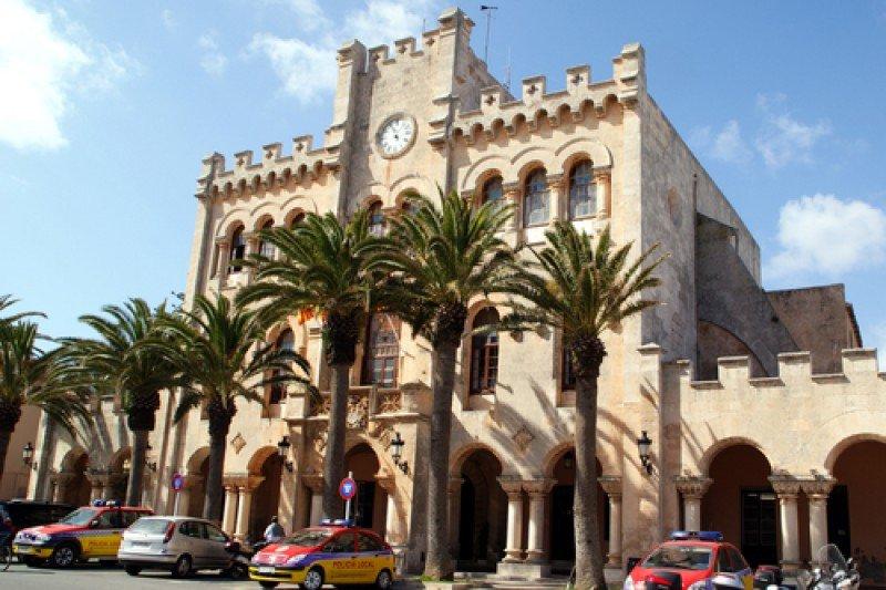 Sede del Ayuntamiento de Ciutadella, Menorca. #shu#