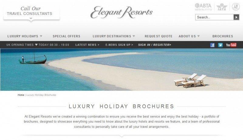 Thomas Cook vende el turoperador Elegant Resorts a un grupo saudí