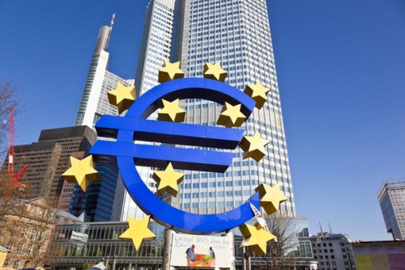 Sede del Banco Central Europeo en Frankfurt, Alemania.