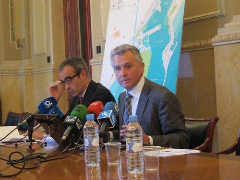 Paulino Plata durante la rueda de prensa.