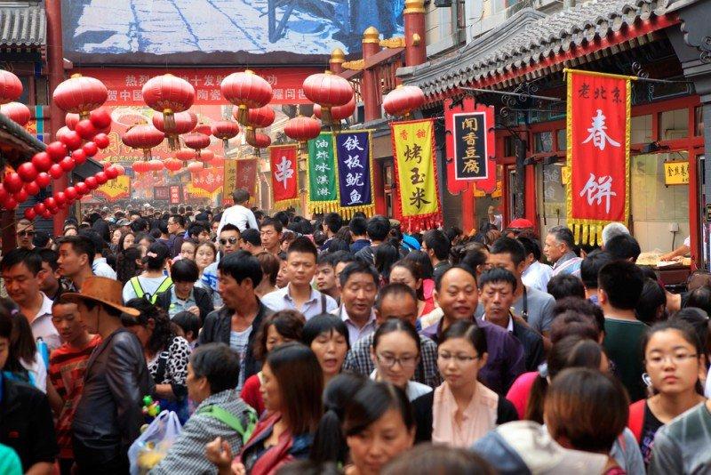 Los turistas chinos viajan mayoritariamente a sus países vecinos. #shu#