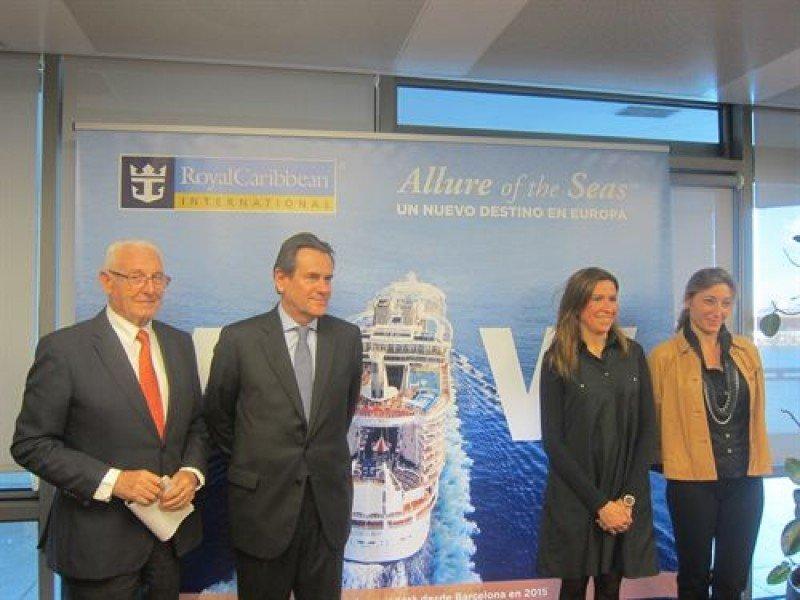 Los pasajeros del Allure of the Seas gastarán en Barcelona 17,5 M €