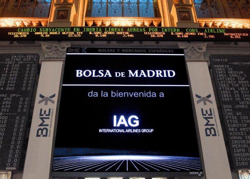 El pacto Iberia-Sepla impulsa los valores de IAG en Bolsa