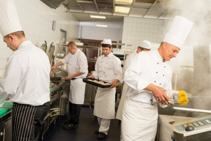 Habrá dos cursos de cocina. #shu#.