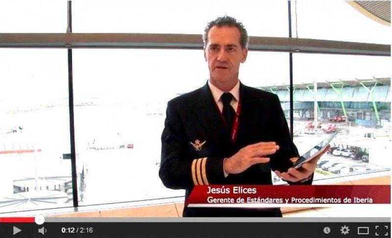 Videonoticia: Iberia, primera en España en equipar a sus pilotos con iPad