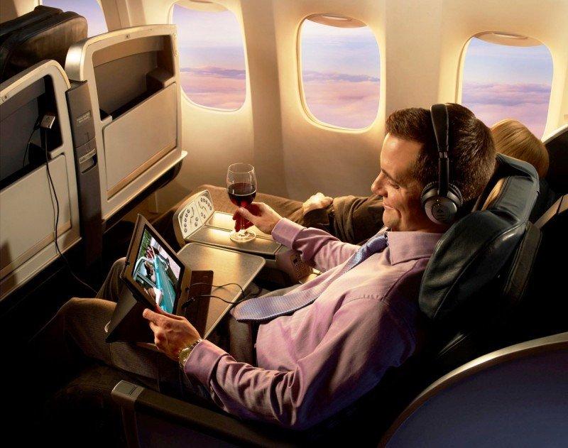 Lufthansa y Air France permiten el uso de dispositivos móviles de puerta a puerta