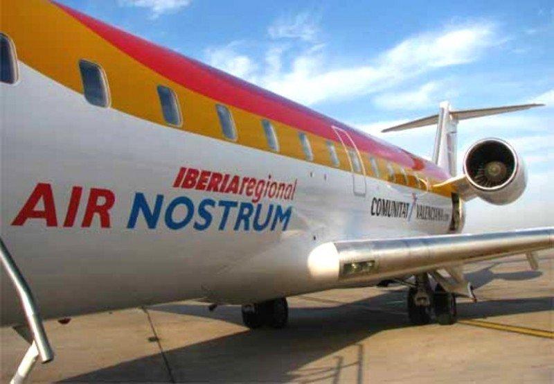 Air Nostrum requiere de 20 M € para seguir operando