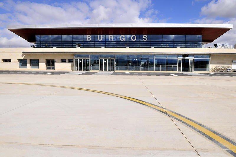 Aeropuerto de Villafría (Burgos).