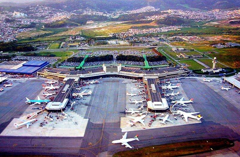 Nuevos vuelos garantizan la conexión de Europa con las cinco regiones de Brasil (En la foto, el Aeropuerto Internacional de San Paulo).