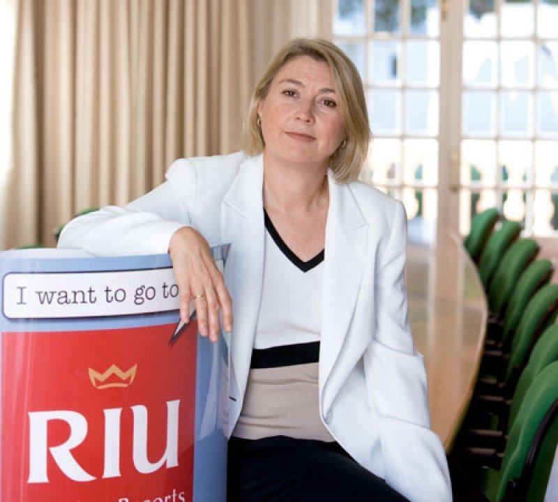 La consejera delegada de Riu Hotels and Resorts, Carmen Riu.