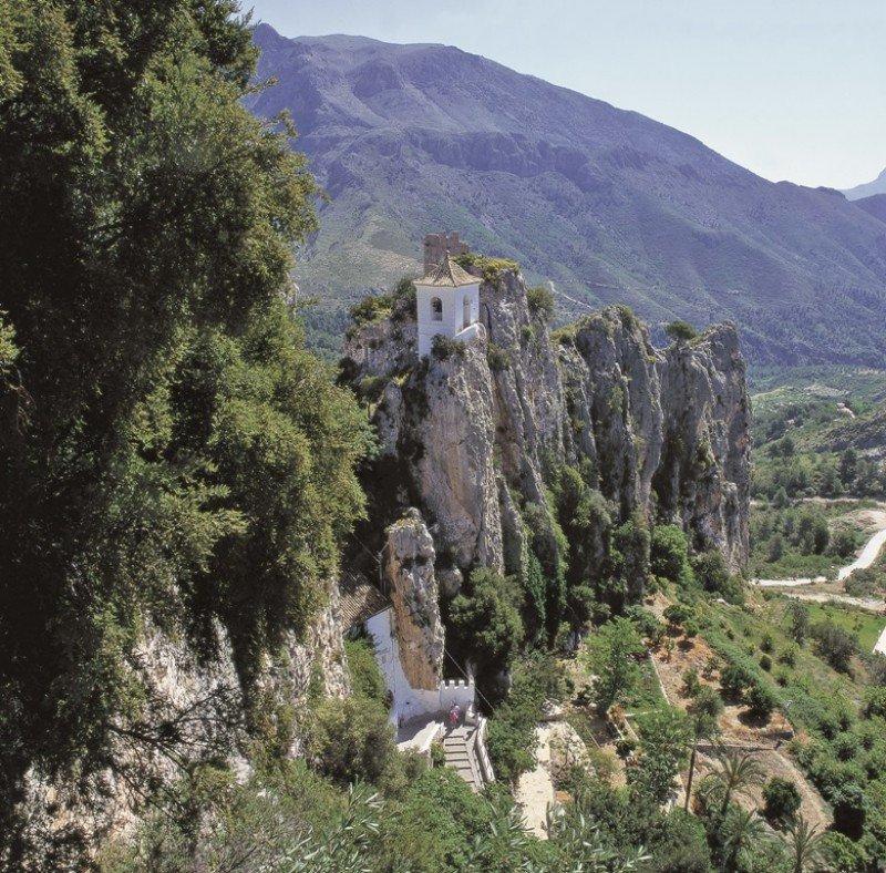 Guadalest, destino de interior de la Comunidad Valenciana.