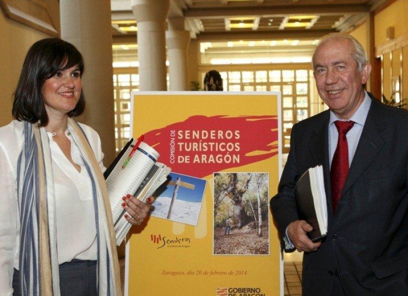 Elena Allué y Francisco Bono, en la presentación del proyecto.