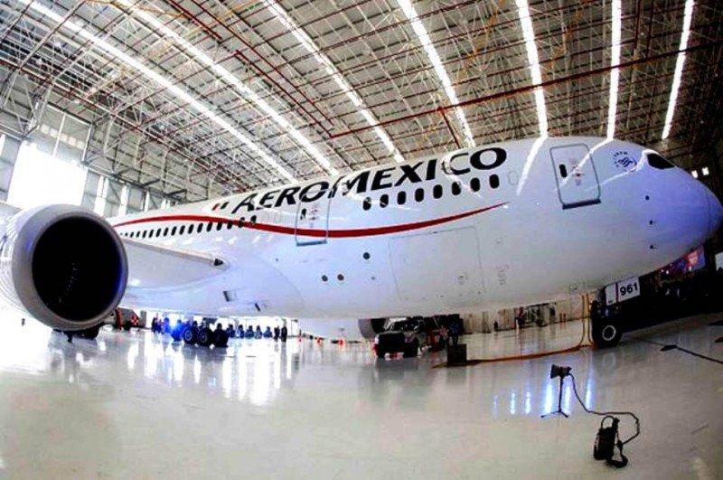 Los beneficios de Aeroméxico caen un 18,3% en 2013