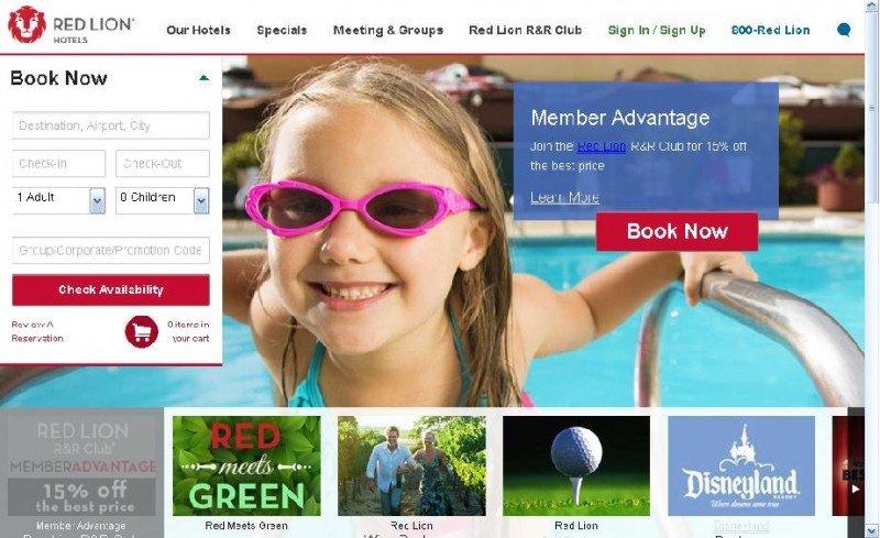 Los microsites locales creados hace siete meses por Red Lion para cada uno de sus hoteles han permitido duplicar las reservas en la web.