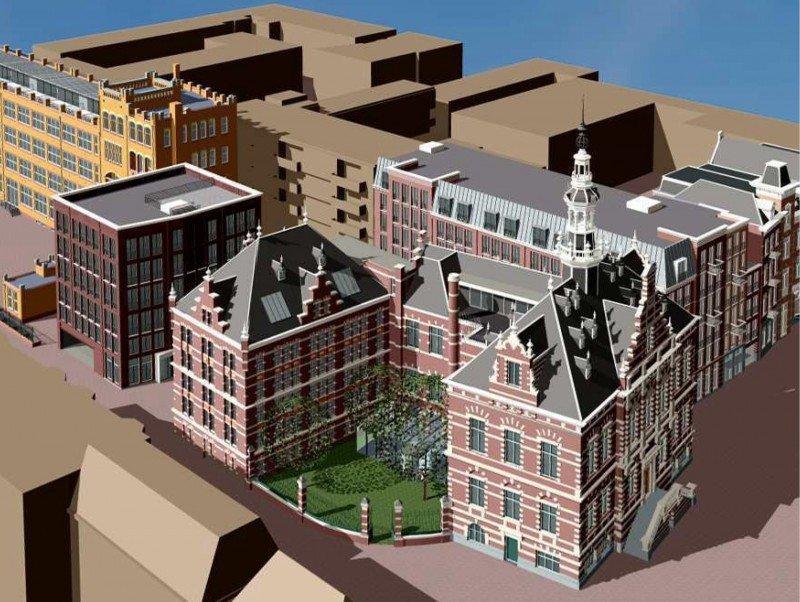 El nuevo 5 estrellas conjuga un edificio histórico con dos inmuebles modernos.