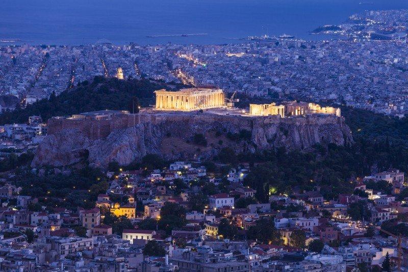 Atenas registró el mayor aumento de la ocupación. #shu#.