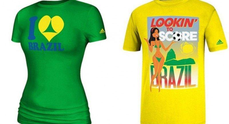 Las camisetas de la polémica.