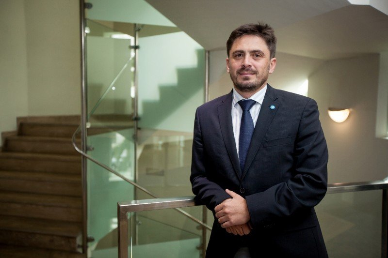 El presidente de Ashotel, Jorge Marichal. Foto: Andrés Gutiérrez.