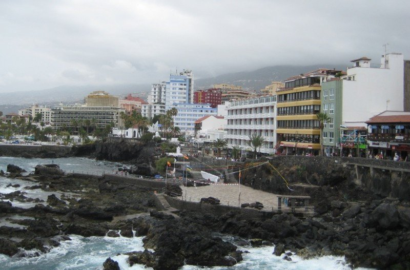 Puerto de la Cruz, Tenerife.