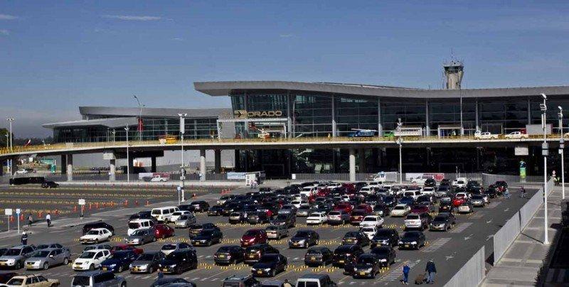 Nueva terminal en el aeropuerto Eldorado de Bogotá. Foto: El Tiempo,