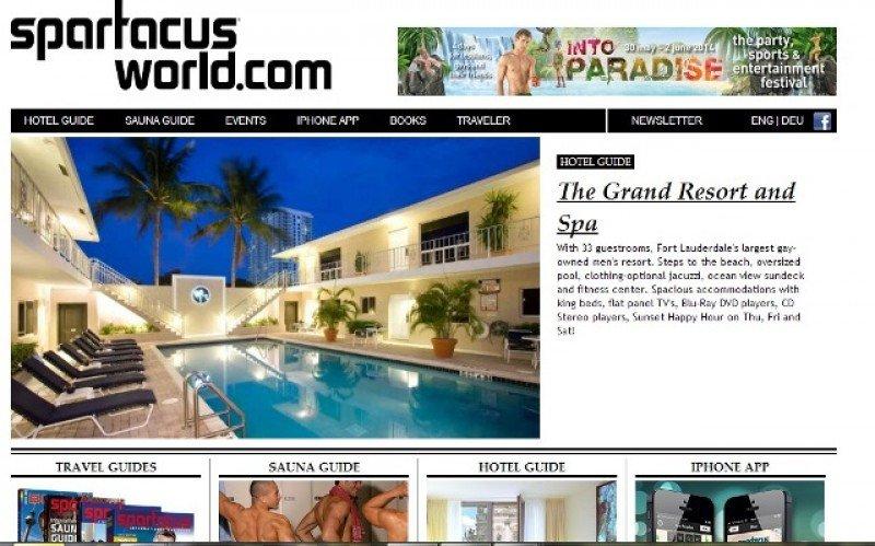 Página web de Spartacus.